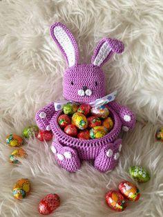 Febbraio Crochet Arts: conigli Video crochet