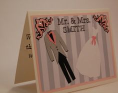 Bridal Shower Card for the Bride with HER Dress by PrinceWhitaker
