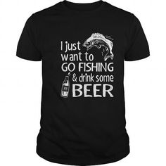 Awesome Tee fishing drink beer Shirts & Tees