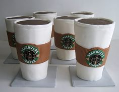 Starbucks Coffee Cupcakes Photo via The Sugar Syndicate