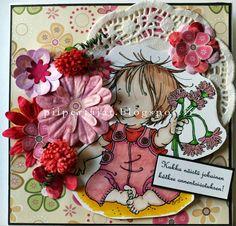 Flowery card Christmas Ornaments, Holiday Decor, Cards, Home Decor, Decoration Home, Room Decor, Christmas Jewelry, Maps, Christmas Decorations