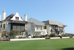 Rosemary Beach and McAlpine architecture! Coastal Cottage, Coastal Homes, Coastal Style, Coastal Living, Beautiful Home Gardens, Beautiful Homes, New Urbanism, Beach Cottages, Beach Houses