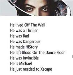 He is Michael Jackson