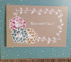 Know What I Love?... | Rambling Rose Studio | Billie Moan