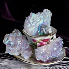 Opal Aura Rose Amethyst for cosmic consciousness and wisdom in 2017. #SageGoddess #Magic #Metaphysical #Gemstones #Crystals #Spirituality #Healing