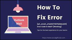 Currently, we will clarify the best way to solve the error code [pii email e7ab94772079efbbcb25] on your Overview Mail. Perfect Image, Perfect Photo, Love Photos, Cool Pictures, Ms Office 365, View App, Email Providers, Error Code, Coding