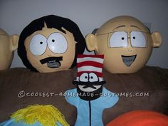 Coolest Homemade South Park Group Costume