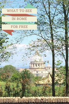 15 amazing things to see in Rome for free you and your kids will love. Did you know some of Rome's most famous attractions are free? Here you'll find 15 free incredible sights  as well as tips for families visiting Rome with kids. Family travel Rome | budget family travel | Rome with kids | free things to do in Rome
