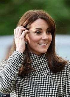Despite her busy schedule this week, the Duchess looked fresh-faced and had a healthy glow...