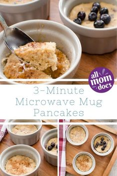Easy Breakfast – Microwave Pancakes in a Mug! Weekday kid-friendly breakfast in three minutes. Easy Breakfast – Microwave Pancakes in a Mug! Weekday kid-friendly breakfast in three minutes. Microwave Pancakes, Microwave Breakfast, Mug Cake Microwave, Breakfast In A Mug, Breakfast Cookies, Pancakes In A Mug, Easy Microwave Recipes, Healthy Microwave Meals, Pre Prepared Meals