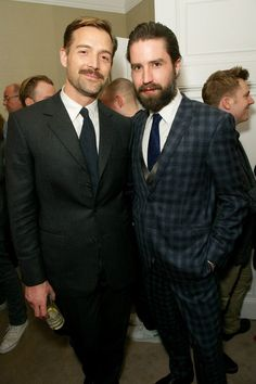 Patrick Grant and Jack Guinness at the MATCHESFASHION.COM & GQ Style SS14 party #MATCHESFASHION #MATCHESMAN