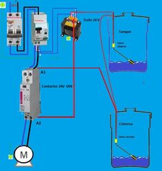 medidas de tanque de agua - Buscar con Google Electrical Wiring Diagram, Electrical Work, Electrical Installation, Electrical Engineering, Electric Power, Electronics Projects, Google, Autocad, Power Lineman