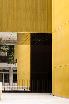 Plataforma das Artes e da Criatividade,© João Morgado Black Building, Architecture Art Design, Tall Cabinet Storage, 1, Home Decor, Creativity, Wedge, Art, Homemade Home Decor