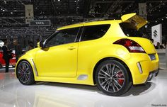 Suzuki Swift Sport is manufactured in a sporty design