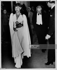 Actress Paulette Goddard and her husband, actor Charlie Chaplin, arriving together at an awards ceremony, July Get premium, high resolution news photos at Getty Images Hooray For Hollywood, Golden Age Of Hollywood, Vintage Hollywood, Hollywood Glamour, Classic Hollywood, Paulette Goddard, Charlie Chaplin, Divas, Edna Purviance