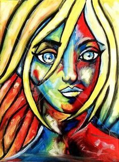 """Art of the day, """"The Hopeful Eye"""" by Anisha Banerjee.   This colourful and bright picture depicts the eye of a common girl full of hope and expectations from the cruel world of competition and gender discrimination. It is difficult for a girl to survive in this rat race of the world. However these optimistic eyes show it's hope for the best.  #Artsmelange #ArtMeetsArtHere"""