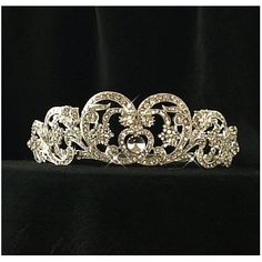 Princess Diana's wedding tiara.                                                                                                                                                      More