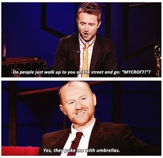Mark Gatiss on After Who Live.