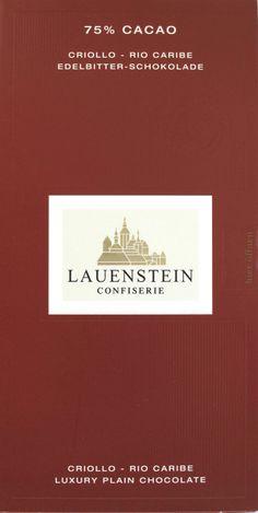 Lauenstein Rio Caribe Criollo 75% Kakao, Germany Travel, Caribbean, Chocolate, Germany Destinations