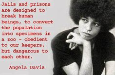 """lovepeacechani: """" Black History Month: Day 1 Angela Davis, former front runner of the Black Panther Party has been wanted by the FBI, shot at, and named """"most dangerous"""" by J Edgar Hoover. Black History Quotes, Black History Facts, Black History Month, Black Quotes, Black Power, Prisoners Rights, Angela Davis Quotes, Black Panther Party, By Any Means Necessary"""