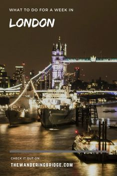 Tips on how to spend a week in London for first-timers. #Travel #London