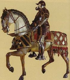 German circa 1534  German horse armor  Horse armour of Otto Heinrich, Count Palatine  of the Rhine (Wallace Collection, London)  http://www.ruble-enterprises.com/horse.htm