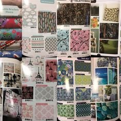 "DAVID TEXTILES on Instagram: ""Just a couple of our favorite pages ! #davidtextiles #allinclusivecatalog #fabrichoardersanonymous"""