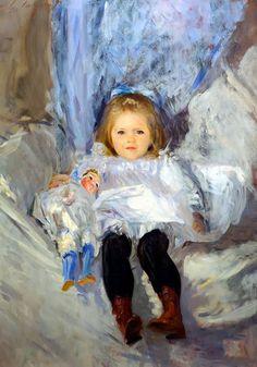John Singer Sargent (Firenze 1856 - Londra 1925) Ruth Sears Bacon