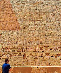 """Ancient Egypt ©: """"So many hieroglyphics to read so little time. Medinet Habu is the second largest ancient temple ever discovered in Egypt, covering a total…"""" Ancient Egypt Art, Ancient Aliens, Ancient History, Egyptian Temple, Egyptian Art, Monuments, Ancient Egyptian Architecture, Cradle Of Civilization, Ancient Civilizations"""