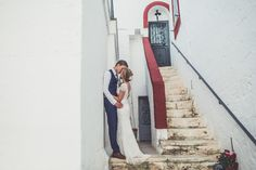 Eliza Jane Howell 'Jayne' Gown from Morgan Davies Bridal  | Rachel Simpson Shoes | Destination Wedding | Masseria Montenapoleone | Claire Penn Photography | http://www.rocmywedding.co.uk/claire-will/