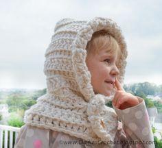 crochet hood pattern crochet cowl girl scarf