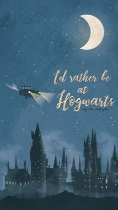 phone wallpaper harry potter Id rather be at Hogwarts Lock Screen Phone Wallpaper {Ford Anglia, Harry Potter} Arte Do Harry Potter, Theme Harry Potter, Harry Potter Books, Harry Potter Universal, Harry Potter Fandom, Harry Potter Memes, Harry Potter World, Harry Potter Hogwarts, Harry Potter Poster