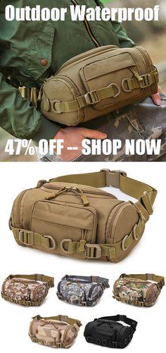 2aca51801c Nylon Outdoor Waterproof Tactical Sling Bag Chest Bag Waist Bag Crossbody  Bag is hot-sale