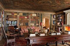 Perfect library in my dream.