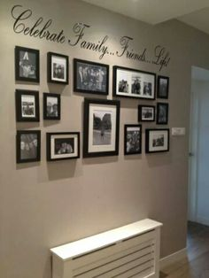 1000 images about fotomuur on pinterest photo walls owl logo and diy photo - Decoratie hal huis ...