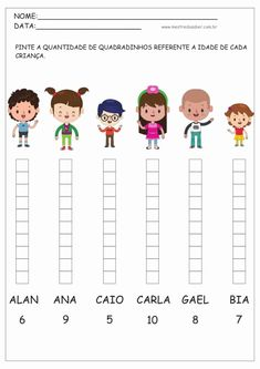 Kindergarten Writing, Preschool Worksheets, Math Activities, Preschool Activities, English Grammar For Kids, First Grade Math Worksheets, Activity Sheets For Kids, Math Projects, Math For Kids