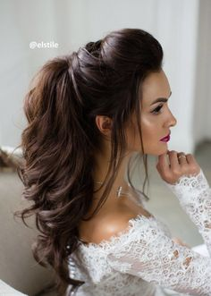 Featured Elstile Hairstyle For Indian Wedding Reception Hairstyles Prom Long