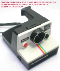 Polaroid One Step. Años 70.