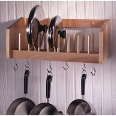 find this pin and more on ideas for homeorganization pot lid rack - Kitchen Pot Rack Ideas