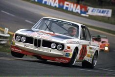 Niki Lauda in the BMW 3.0 CSL that he shared with Hans-Joachim Stuck during the 1973 Spa 24 Hrs. Photo: Schlegelmilch