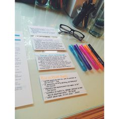 Some of the prep I did for my Ancient History half-yearly today! I summarised every syllabus dot point so that each dot point fits in one Palm card! College Notes, School Notes, School Tips, College Life, Law School, Reading Motivation, School Motivation, Study Flashcards, Keep Calm And Study