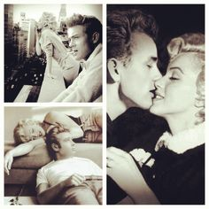 James Dean Marilyn Monroe | photo manipulation by Brailliant | POSTER PRINTS…