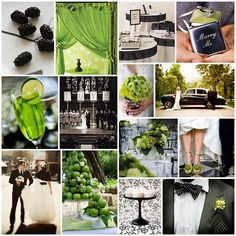 1000 Images About Lime Green And Black Wedding Ideas On Pinterest