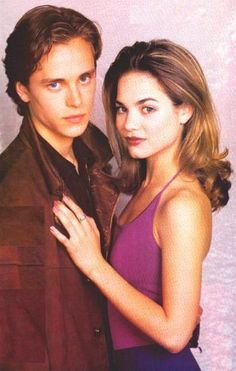 Liz & Lucky, General Hospital, late 90s. I remember rushing home from school to watch this senior year!