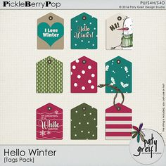 <p><strong>This Hello Winter 6 Packs</strong>can be used digitally or printed, saved as 300 dpi PNG/JPG files. For Personal Use and S4H/S4O.</p>