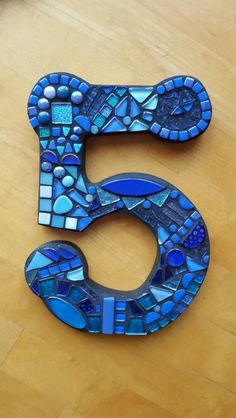 Mosaic house number. ... Wise Crackin Mosaics