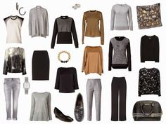 The Vivienne Files: A Four by Four Wardrobe in Black, Grey, Camel and ...