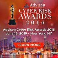 33 cyber risk professionals and 48 companies have been nominated for a #cyberrisk award. Request a ballot and cast your vote now! #2016CyberRiskAwards #AdvisenCyberRiskAwards