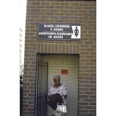 """Signs of Apartheid What South Africans had to look at every day for four decades. 1986 Toilets restricted to use by """"Black, Coloreds & Asians"""" at a bus station. IMAGE: WILLIAM F. CAMPBELL/THE LIFE IMAGES COLLECTION/GETTY IMAGES #photography #southafrica #apartheid (via @mashable)"""