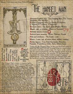 Wiccan Spell Book, Wiccan Spells, Witchcraft, Hanged Man Tarot, The Hanged Man, Divination Cards, Tarot Cards, Tarot Astrology, Tarot Major Arcana